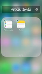 Apple iPhone 5s iOS 10 - Operazioni iniziali - Personalizzazione della schermata iniziale - Fase 7