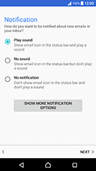 Sony Xperia X Performance (F8131) - E-mail - Manual configuration (outlook) - Step 14