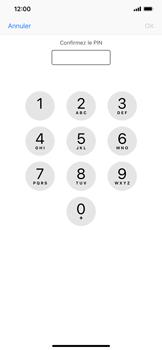 Apple iPhone XS Max - Sécuriser votre mobile - Personnaliser le code PIN de votre carte SIM - Étape 10