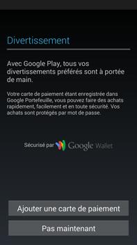Samsung Galaxy Note 3 - Premiers pas - Créer un compte - Étape 28
