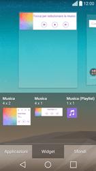 LG Spirit 4G - Operazioni iniziali - Installazione di widget e applicazioni nella schermata iniziale - Fase 7