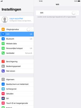Apple iPad 9.7 - iOS 11 - WiFi - Verbinden met een netwerk - Stap 4