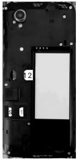 Alcatel 1 - Premiers pas - Insérer la carte SIM - Étape 5