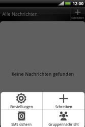 HTC A310e Explorer - SMS - Manuelle Konfiguration - Schritt 5