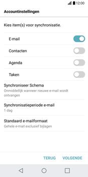 LG G6 H870 - E-mail - Handmatig Instellen - Stap 9