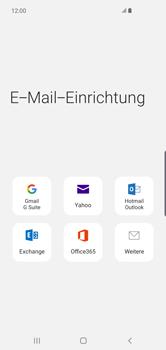 Samsung Galaxy S10 Plus - E-Mail - 032c. Email wizard - Outlook - Schritt 6