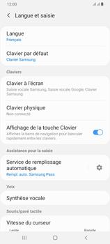 Samsung Galaxy A70 - Prise en main - Comment ajouter une langue de clavier - Étape 6