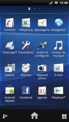 Sony Xperia Arc - E-mail - Configuration manuelle - Étape 3