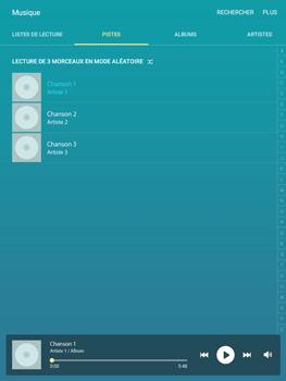 Samsung Galaxy Tab A - Photos, vidéos, musique - Ecouter de la musique - Étape 4