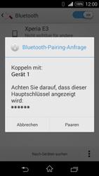 Sony D2203 Xperia E3 - Bluetooth - Geräte koppeln - Schritt 9