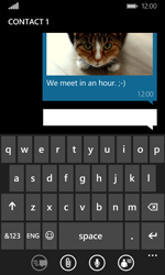 Microsoft Lumia 435 - MMS - Sending pictures - Step 14