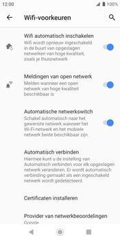 Sony xperia-xz2-h8216-android-pie - WiFi - WiFi Assistentie uitzetten - Stap 10