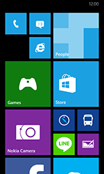 Nokia Lumia 635 - Getting started - Personalising your Start screen - Step 2