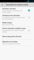 Huawei Ascend G526 - Internet et roaming de données - Désactivation du roaming de données - Étape 7