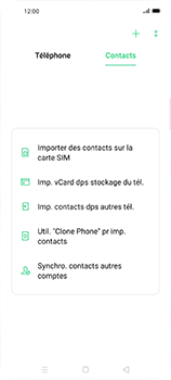 Oppo Find X2 Neo - Contact, Appels, SMS/MMS - Ajouter un contact - Étape 4