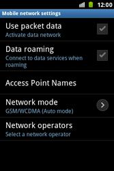 Samsung S7500 Galaxy Ace Plus - Internet - Manual configuration - Step 6