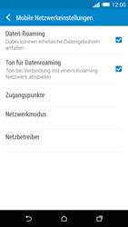 HTC One M8 - Ausland - Im Ausland surfen – Datenroaming - Schritt 9