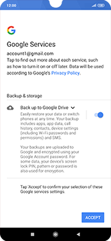 Xiaomi RedMi Note 7 - E-mail - 032a. Email wizard - Gmail - Step 11