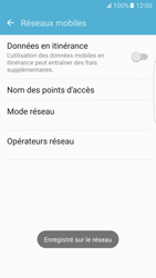 Samsung Galaxy S7 Edge - Réseau - Sélection manuelle du réseau - Étape 10