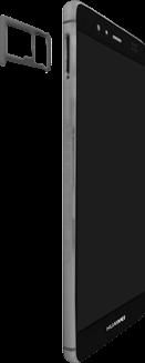 Huawei P9 - SIM-Karte - Einlegen - 0 / 0