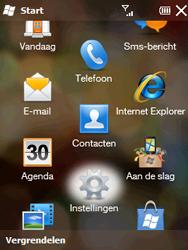 HTC T3333 Touch II - bluetooth - aanzetten - stap 3