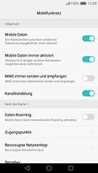 Huawei Honor 8 - Ausland - Auslandskosten vermeiden - Schritt 9