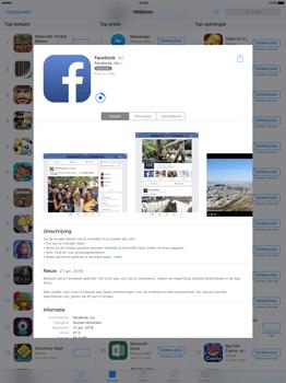 Apple iPad Pro 12.9 inch met iOS9 (Model A1652) - Applicaties - Account aanmaken - Stap 26