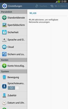 Samsung Galaxy Tab 3 8-0 LTE - Gerät - Zurücksetzen auf die Werkseinstellungen - Schritt 4