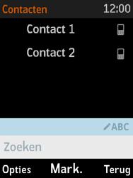 Nokia 3310 3G (TA-1022) - Contacten en data - Contacten kopiëren van toestel naar SIM - Stap 8