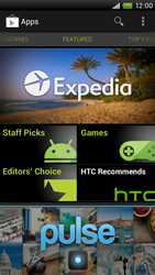 HTC One X Plus - Applications - Setting up the application store - Step 16