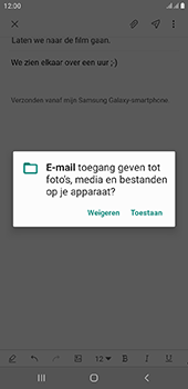 Samsung Galaxy J6 Plus - E-mail - e-mail versturen - Stap 13
