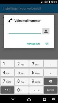 Sony Xperia Z5 Premium (E6853) - Android Nougat - Voicemail - Handmatig instellen - Stap 8