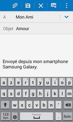 Samsung G357 Galaxy Ace 4 - E-mail - Envoi d