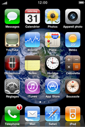 Apple iPhone 3G - Messagerie vocale - Visual Voicemail - Étape 2