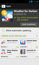 ZTE Blade III - Applications - Installing applications - Step 15