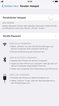 Apple iPhone 6s Plus - Internet - Mobilen WLAN-Hotspot einrichten - 6 / 10