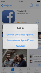Apple iPhone 5 iOS 7 - apps - account instellen - stap 8