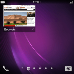 BlackBerry Q10 - Internet and data roaming - Using the Internet - Step 15