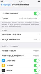 Apple iPhone 6s - iOS 11 - Internet et connexion - Partager votre connexion en Wi-Fi - Étape 4