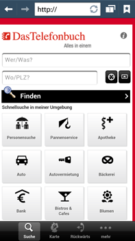 Samsung Galaxy Note III LTE - Internet und Datenroaming - Verwenden des Internets - Schritt 14