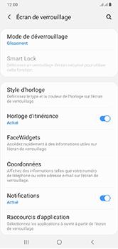 Samsung Galaxy A10 - Sécurité - activéz le code PIN de l'appareil - Étape 5
