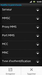 Sony ST25i Xperia U - MMS - configuration manuelle - Étape 14