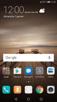 Huawei Mate 9 - Réseau - Sélection manuelle du réseau - Étape 2