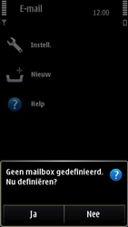 Nokia E7-00 - E-mail - Handmatig instellen - Stap 5