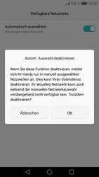 Huawei Huawei P9 - Netzwerk - Manuelle Netzwerkwahl - Schritt 8