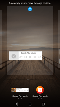 Huawei Mate 9 - Getting started - Installing widgets and applications on your start screen - Step 8