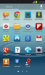 Samsung Galaxy S III Mini - Netzwerk - Manuelle Netzwerkwahl - Schritt 3