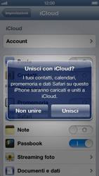 Apple iPhone 5 - Applicazioni - Configurazione del servizio Apple iCloud - Fase 6