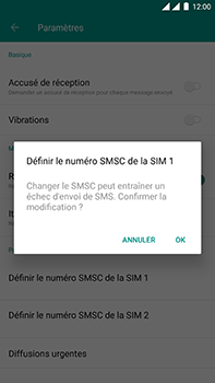 OnePlus 3 - Android Oreo - SMS - Configuration manuelle - Étape 8