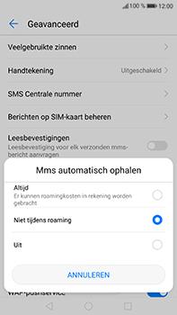 Huawei P10 Plus - MMS - probleem met ontvangen - Stap 7